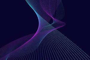 diseño digital de onda de sonido vertical abstracto