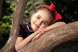 snow white little girl photo