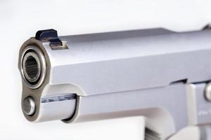 cañón de un arma