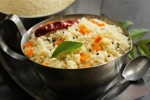 Upma -South Indian vegetarian Breakfast