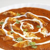Close up of Paneer Makhani, India