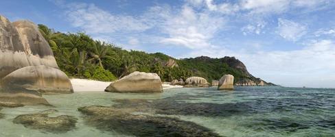 La Digue, Seychelles island