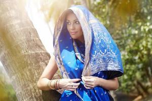 Indian fashion photo