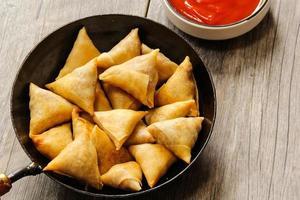 Samosa Indian vegetable snack