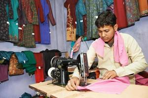 two indian man tailors photo