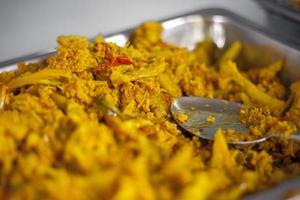 tazón de dal indio picante