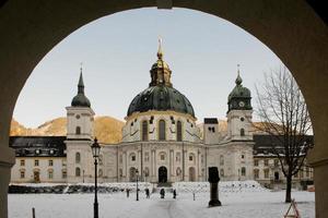 The Ettal Abbey photo