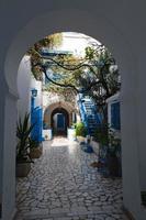 Cozy street in Cartagina