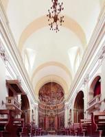 in een kerk