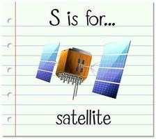 s é para satélite