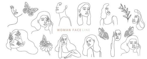 Collection of fine line style women