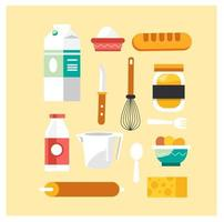 Baking tools and food collection
