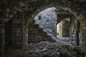 casa en ruinas foto
