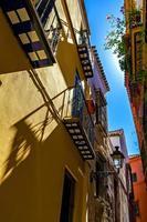 Old Jewish quarter in Seville photo