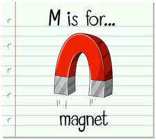 M is for Magnet vector