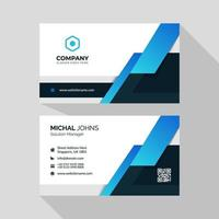 Professional business card template set  vector