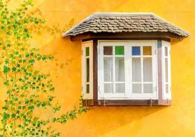 ventana blanca foto