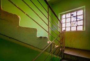 escalera soviética foto