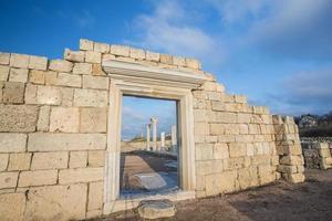Ruins of ancient greek colony Khersones