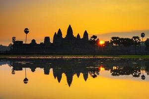 Ankor Wat, photo taken at sunrise