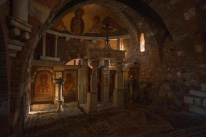Church at Ancient Mantineia, Arcadia, Peloponnese, Greece photo