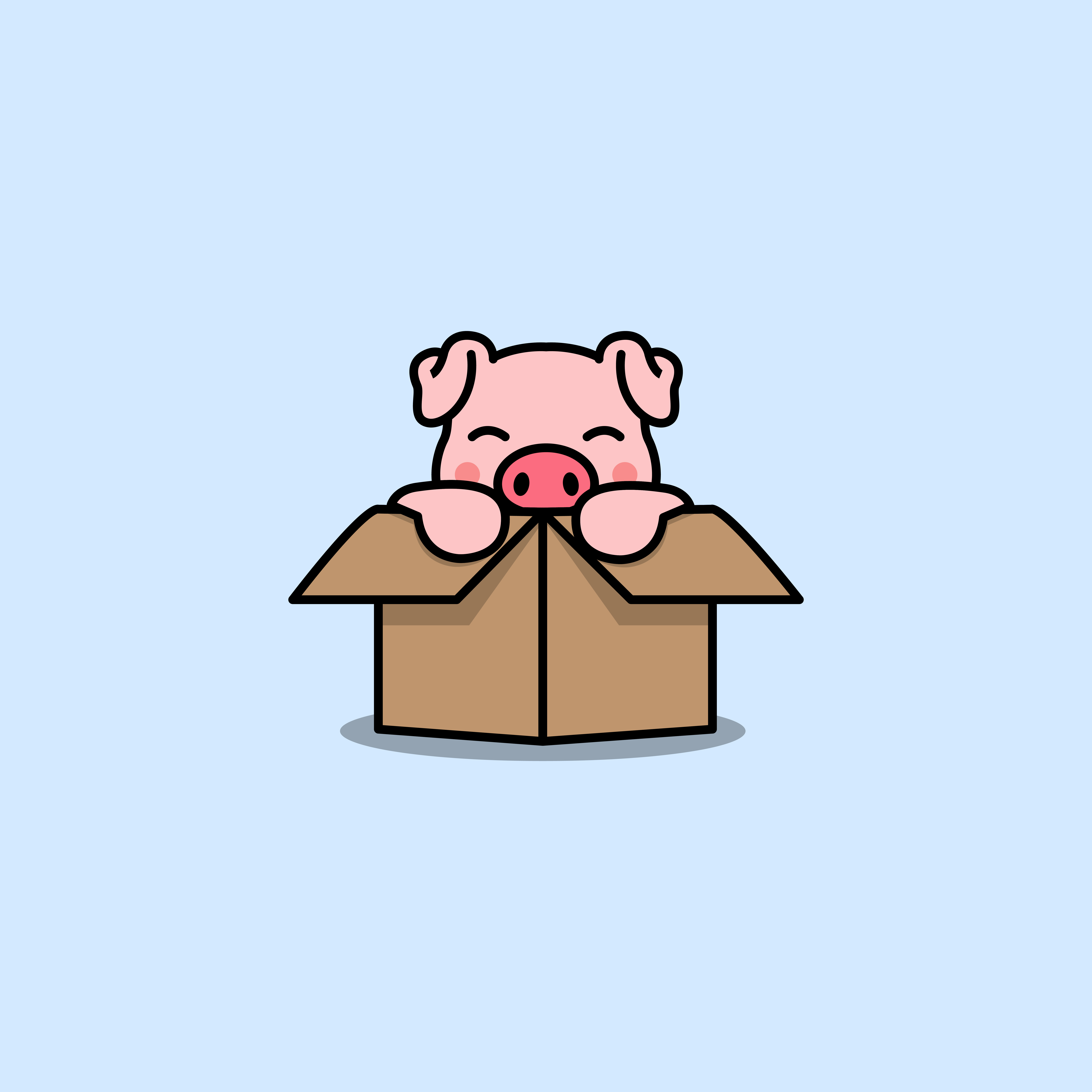 Pig Clipart PNG Images   Vector and PSD Files   Free Download on Pngtree