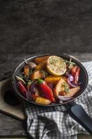 vegetarische pompoencurry