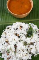 arroz cuajado foto