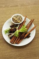Spice for making Chinese stewed photo