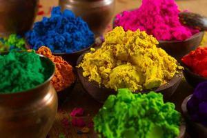 pigmentos indios foto