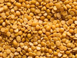 uncooked indian dhal lentil ood background