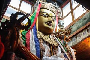 Buddhistic statue photo