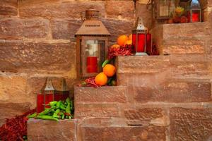 Indian lamps, Jodhpur photo