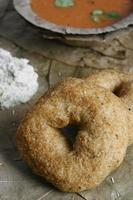 Medu Vada is a traditional Indian dish.