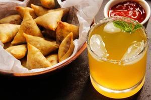Samosa - Popular Vegetarian snack in indian cuisine