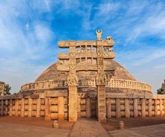 Great Stupa in Sanchi, Madhya Pradesh, in India