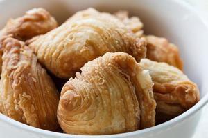 Pastry samosas photo