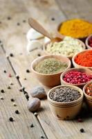 Oriental spices photo