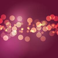 Abstract bokeh lights vector
