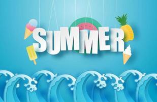 ciao estate con le onde