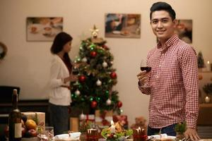 Celebrating at home photo