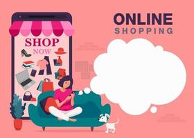 Online smartphone shopping banner