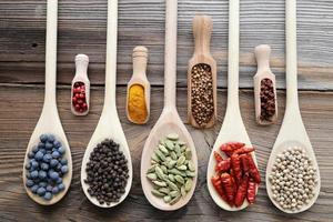Aromatic spices. photo
