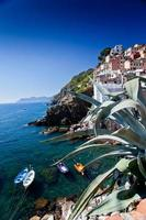 Riomaggiore, Cinque Terre, Italy photo