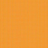 patrón de flores de color naranja claro en naranja