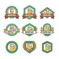 Beer Day Badge Set