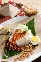 Nasi Lemak as breakfast