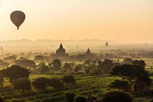 Bagan Sunrise photo