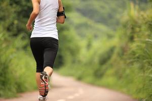 Runner athlete