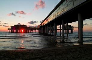 Cityline en la playa foto